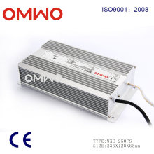 Switching Power Supply 250W Waterproof LED Driver
